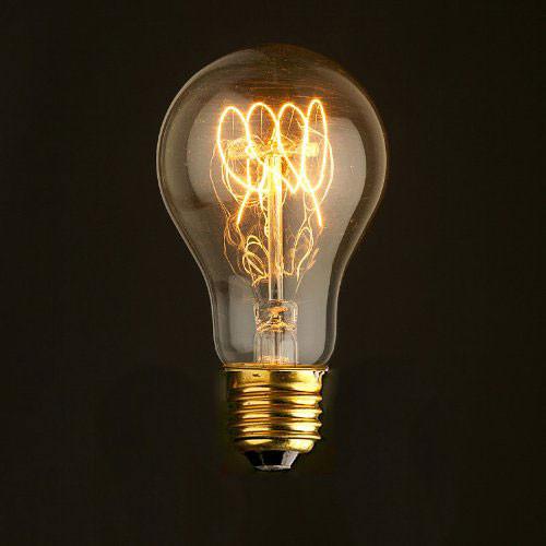 Лампочка Loft It Ретро лампа накаливания (груша) Loft It E27 60W 220V 1004-SC от svetilnik-online