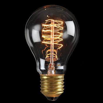Лампочка Loft It Ретро лампа накаливания (груша) Loft It E27 60W 220V 1004 от svetilnik-online