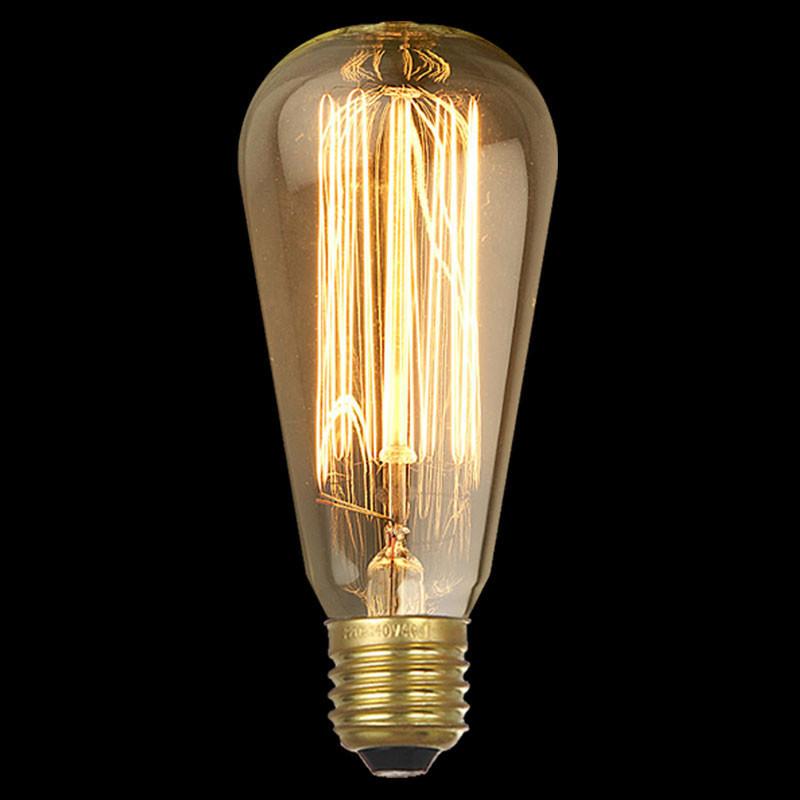 Лампочка Loft It Ретро лампа накаливания Loft It E27 40W 220V 1007 от svetilnik-online