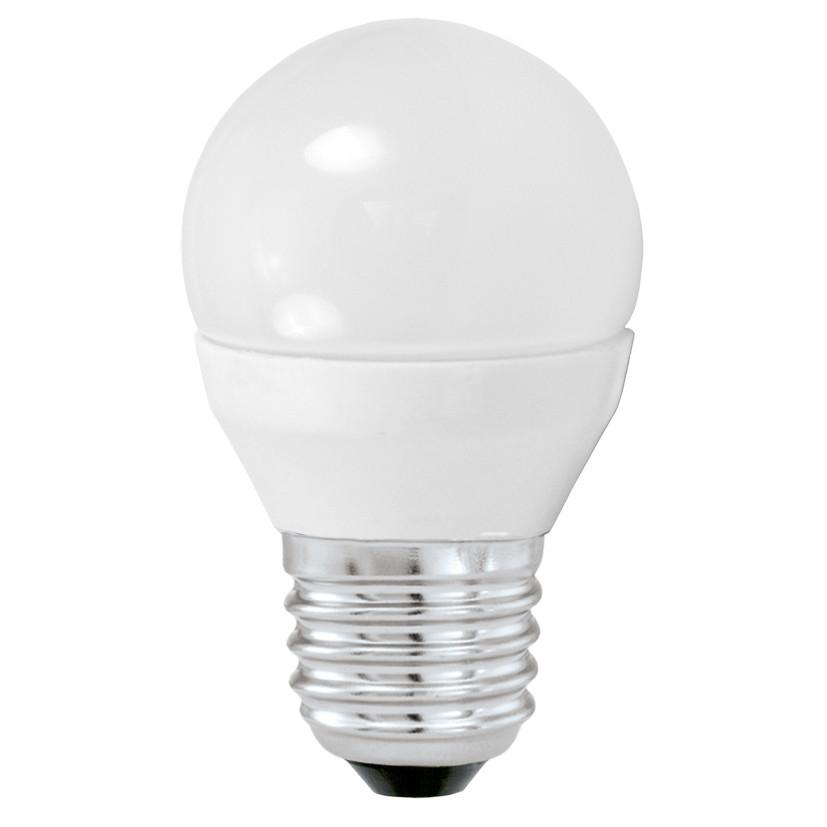 Лампочка Eglo Светодиодная лампа Eglo G45 E27 4W (соответствует 40W) 320Lm 3000К (теплый белый) 10762 от svetilnik-online