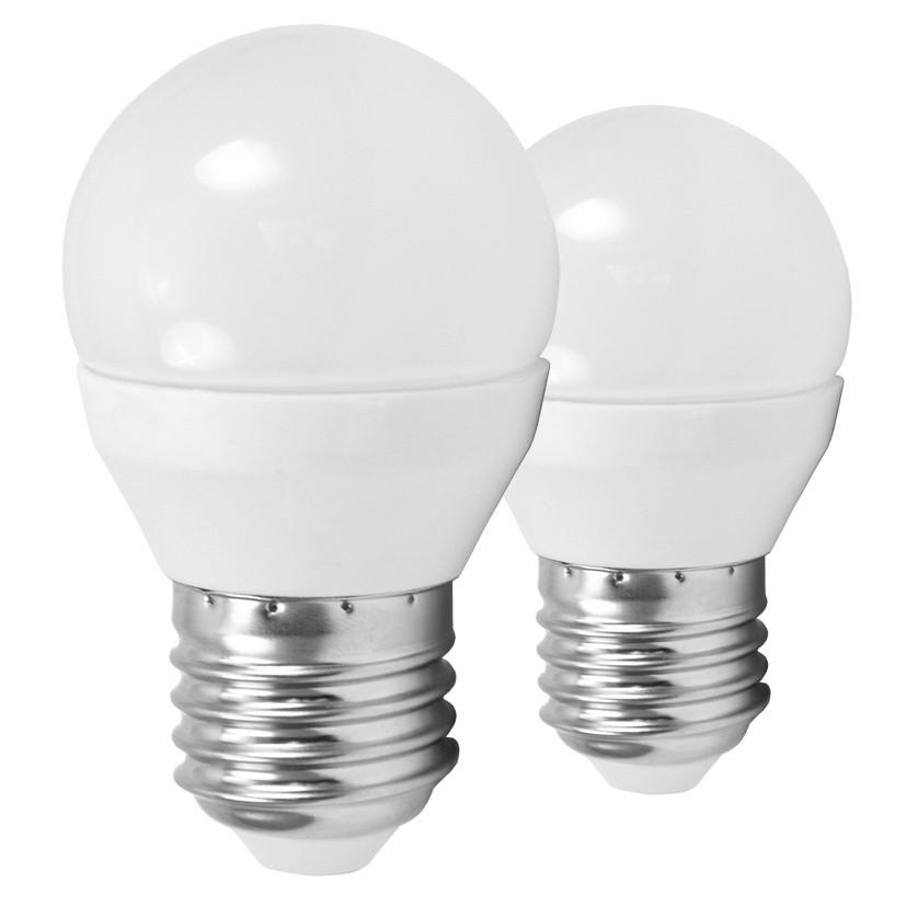 Лампочка Eglo Светодиодная лампа Eglo G45 4W (соответствует 40W) 320Lm 3000К (теплый белый) 10777 от svetilnik-online