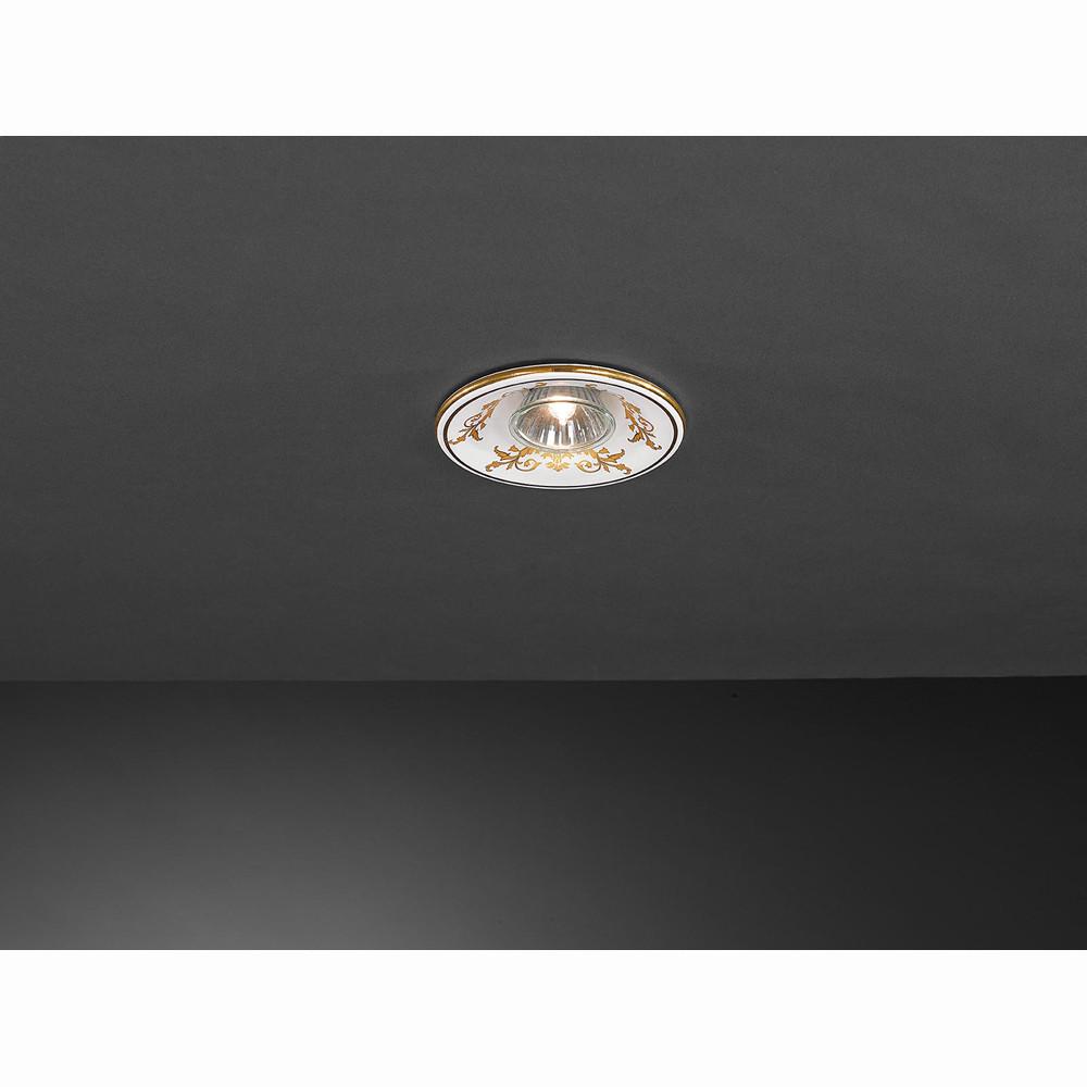 Точечный светильник La Lampada La Lampada SPOT 85/1 Ceramic Barocco от svetilnik-online