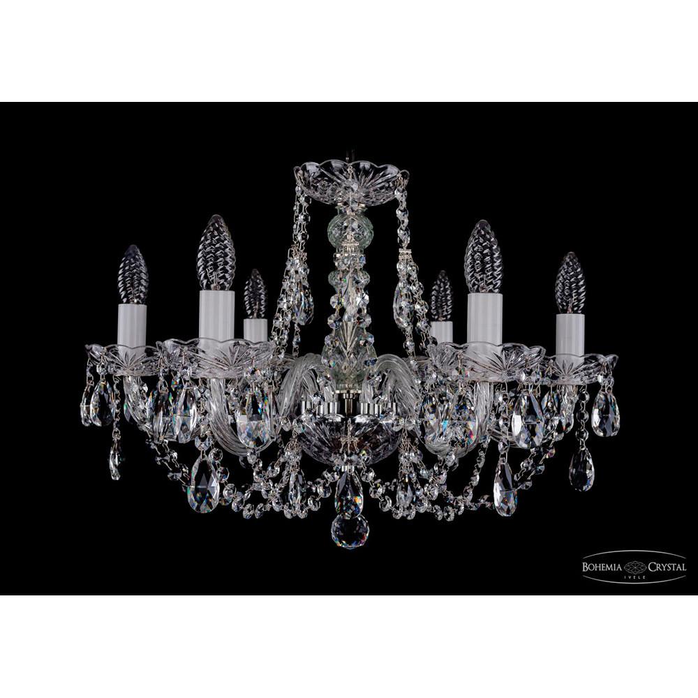 Светильник (Люстра) Bohemia Ivele Crystal 1406/6/195/NiСветильник (Люстра) Bohemia Ivele Crystal 1406/6/195/Ni<br>
