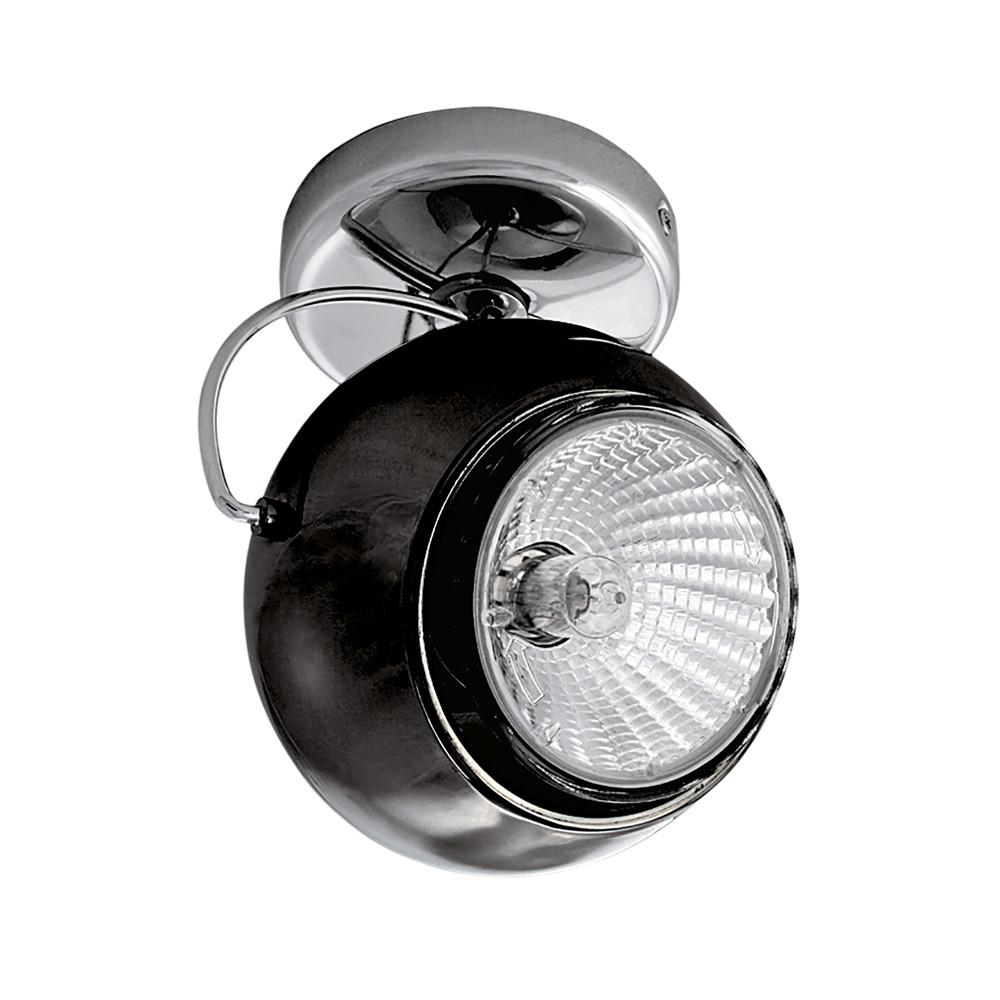 Светильник точечный Lightstar Occhio Fabi Nero 110574  - Купить