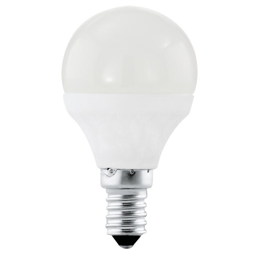 Лампочка Eglo Светодиодная лампа Eglo P45 E14 4W (соответствует 40W) 320Lm 3000K (теплый белый) 11419 от svetilnik-online