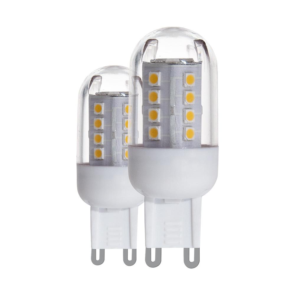 Лампочка Eglo Светодиодная лампа Eglo 220V G9 2.5W (соответствует 25 Вт) 200Lm 4000K (белый) 11462 от svetilnik-online