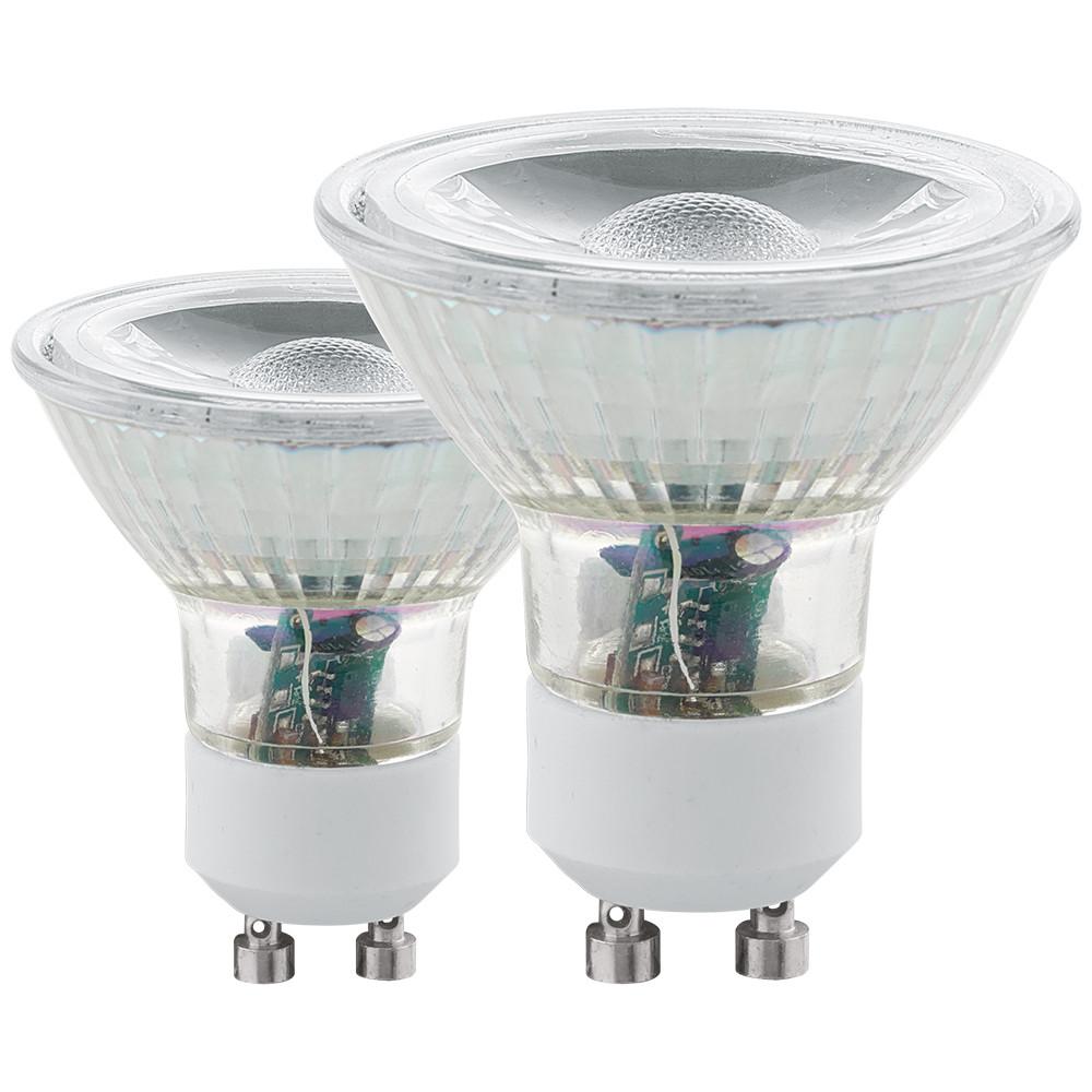 Лампочка Eglo Cветодиодная лампа Eglo COB GU10 3.3W (соответствует 33W) 240Lm 4000К (белый) 11527 от svetilnik-online
