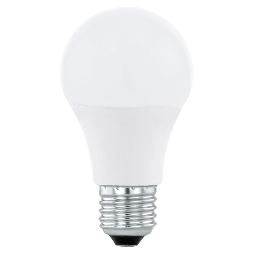 Лампочка Eglo Светодиодная лампа Eglo A60 E27 6W (соответствует 60W) 470Lm 3000К (теплый белый) 11476 от svetilnik-online
