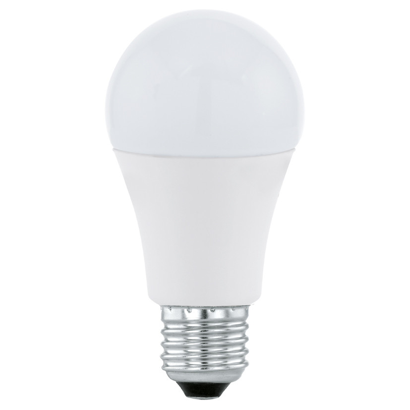 Лампочка Eglo Светодиодная лампа Eglo 220V A60 E27 10W (соответствует 100 Вт) 806Lm 3000K (теплый белый) 11477 от svetilnik-online