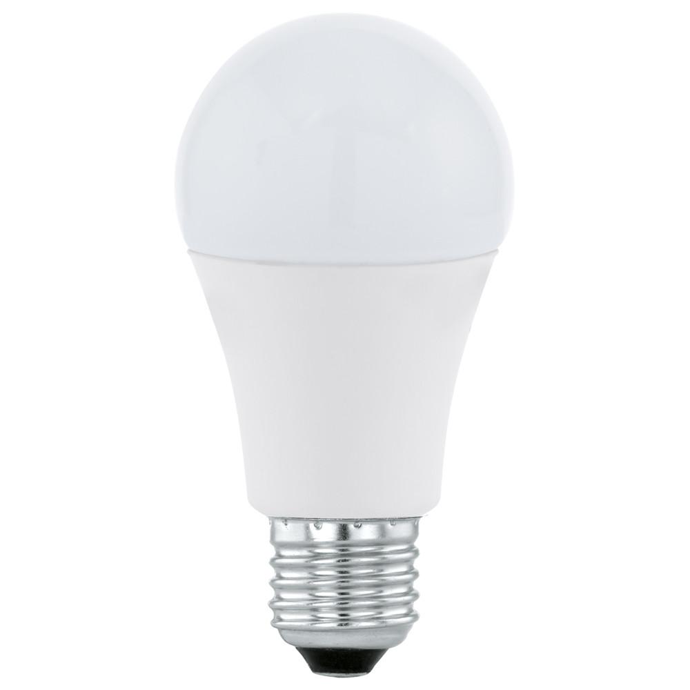 Купить Светодиодная лампа Eglo 220V A60 E27 12W (соответствует 120 Вт) 1055Lm 3000K (теплый белый) 11478