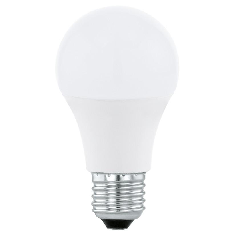 Лампочка Eglo Светодиодная лампа Eglo A60 E27 6W (соответствует 60W) 470Lm 4000К (белый) 11479 от svetilnik-online