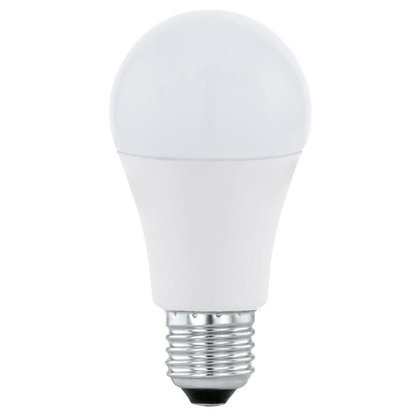 Лампочка Eglo Светодиодная лампа Eglo 220V A60 E27 10W (соответствует 100 Вт) 806Lm 4000K (белый) 11481 от svetilnik-online