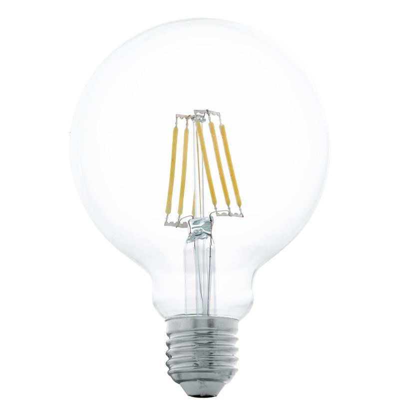 Купить Светодиодная лампа филаментная Eglo 220V G95 E27 5W (соответствует 50 Вт) 600Lm 2700K (теплый белый) 11503