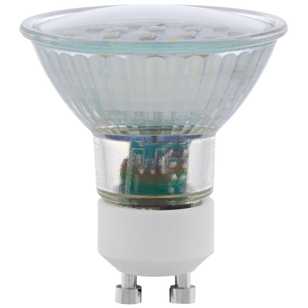 Купить Светодиодная лампа Eglo 220V SMD GU10 5W (соответствует 50 Вт) 400Lm 3000K (теплый белый) 11535