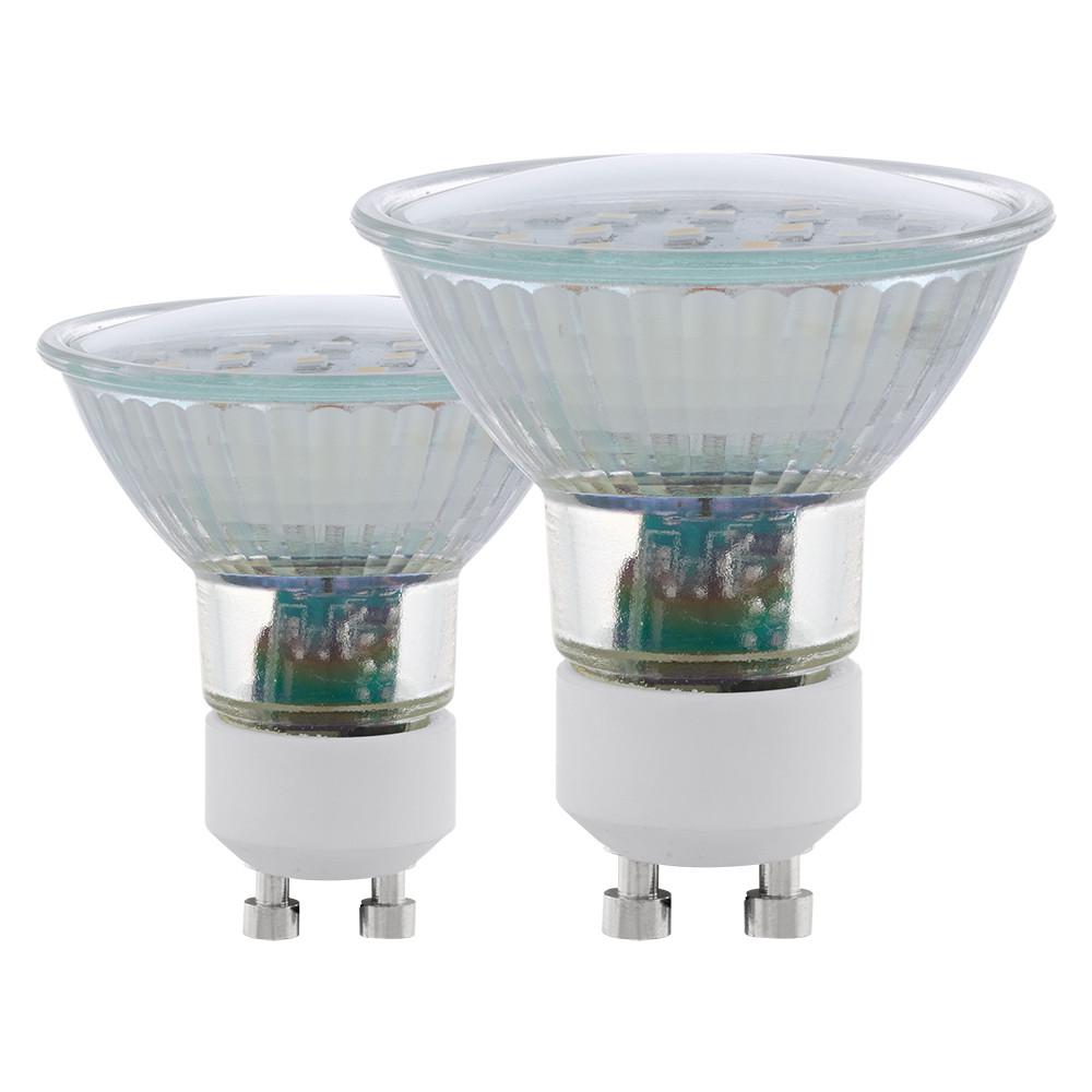 Купить Cветодиодная лампа Eglo SMD GU10 5W (соответствует 50W) 400Lm 3000К (теплый белый) 11537
