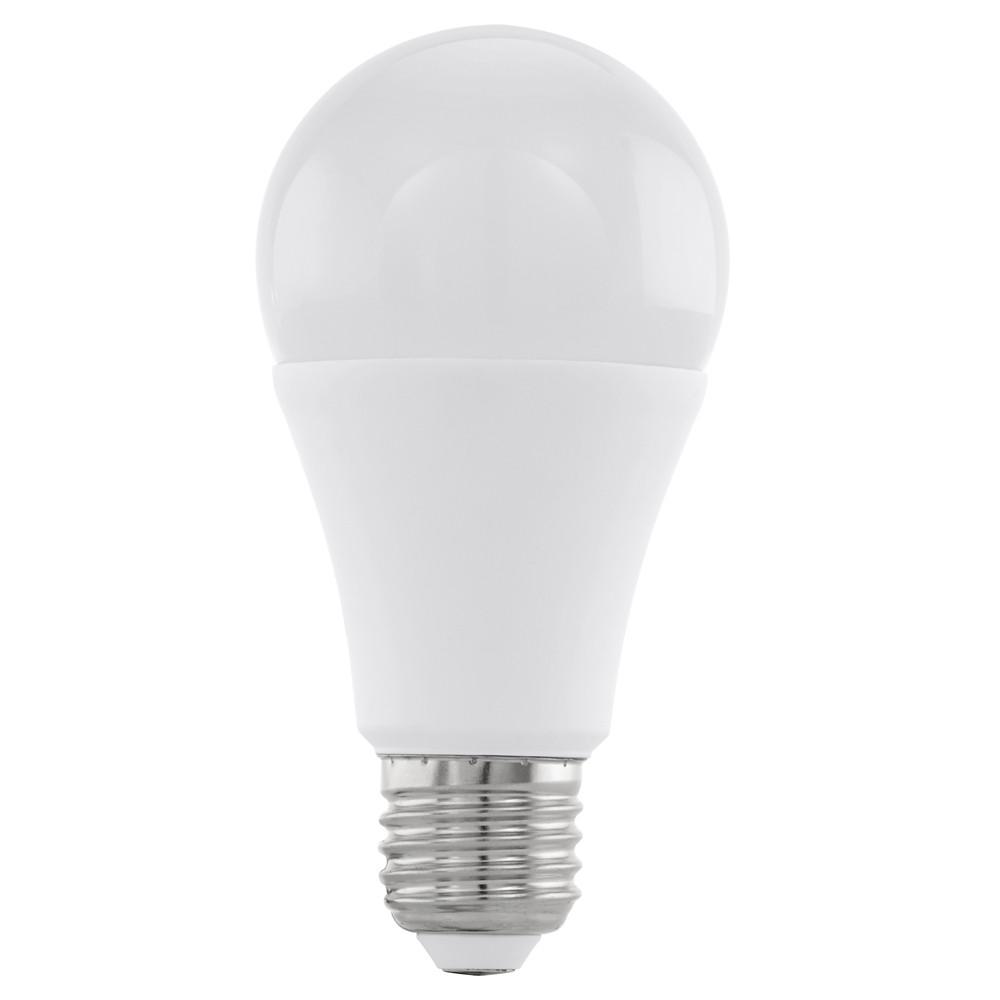 Купить Диммируемая светодиодная лампа Eglo A60 E27 12W (соответствует 120W) 1055Lm 3000К (теплый белый) 11545