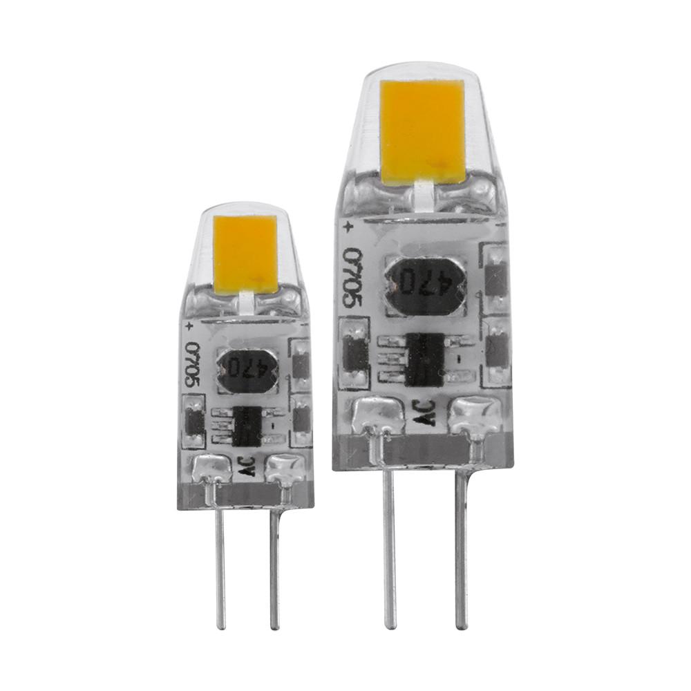 Купить Диммируемая светодиодная лампа Eglo G4 1.2W (соответствует 12W) 100Lm 2700K (теплый белый) 11551
