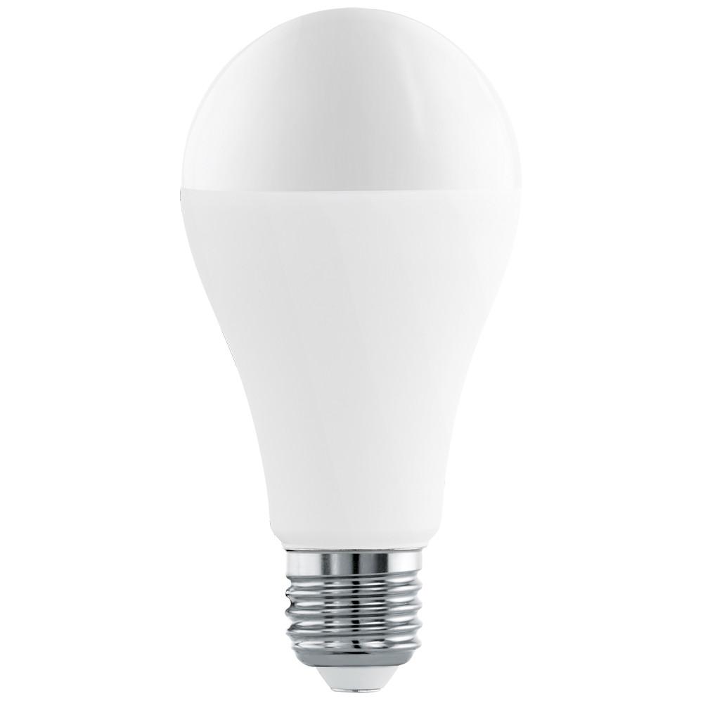 Светодиодная лампа Eglo A65 E27 16W (соответствует 100W) 1521Lm 3000К (теплый белый) 11563Лампочки<br>Светодиодная лампа Eglo A65 E27 16W (соответствует 100W) 1521Lm 3000К (теплый белый) 11563<br>