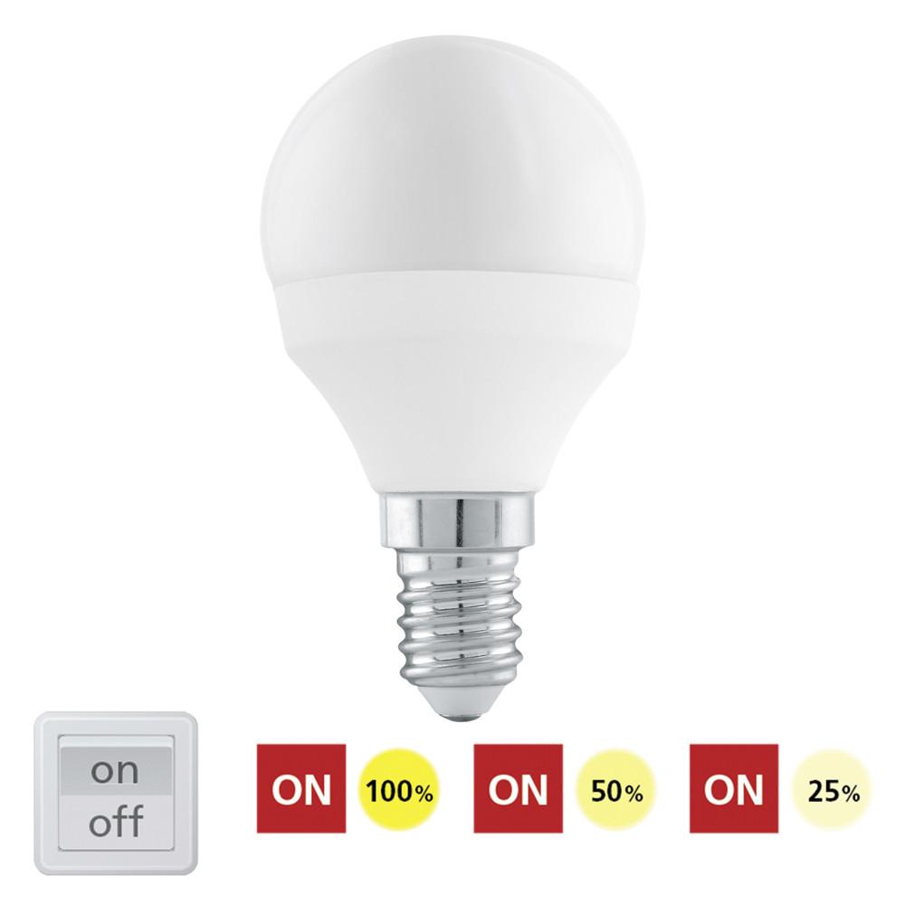 Купить Диммируемая светодиодная лампа Eglo P45 E14 6W (соответствует 60W) 470Lm 4000К (теплый белый) 11584