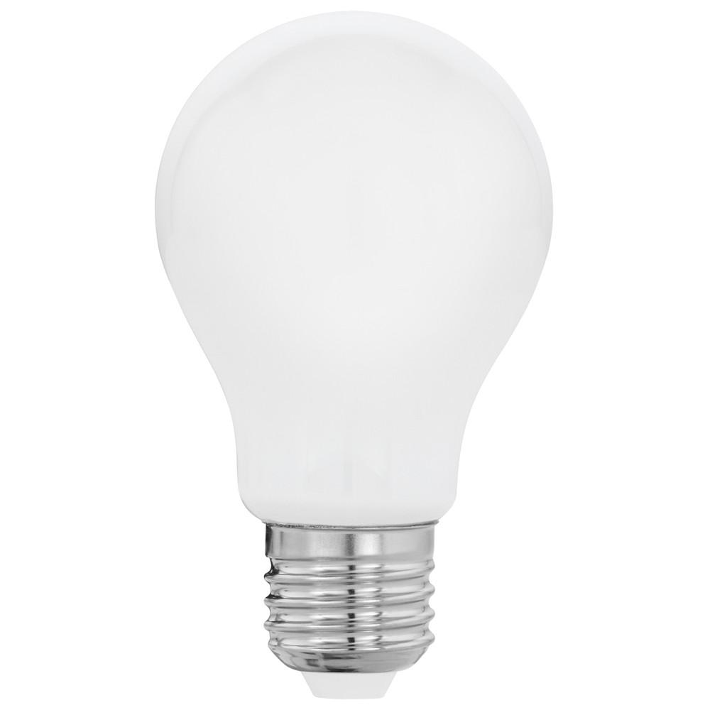 Лампочка Eglo Светодиодная лампа филаментная Eglo A60 E27 8W (соответствует 80W) 806Lm 2700K (теплый белый) 11596 от svetilnik-online