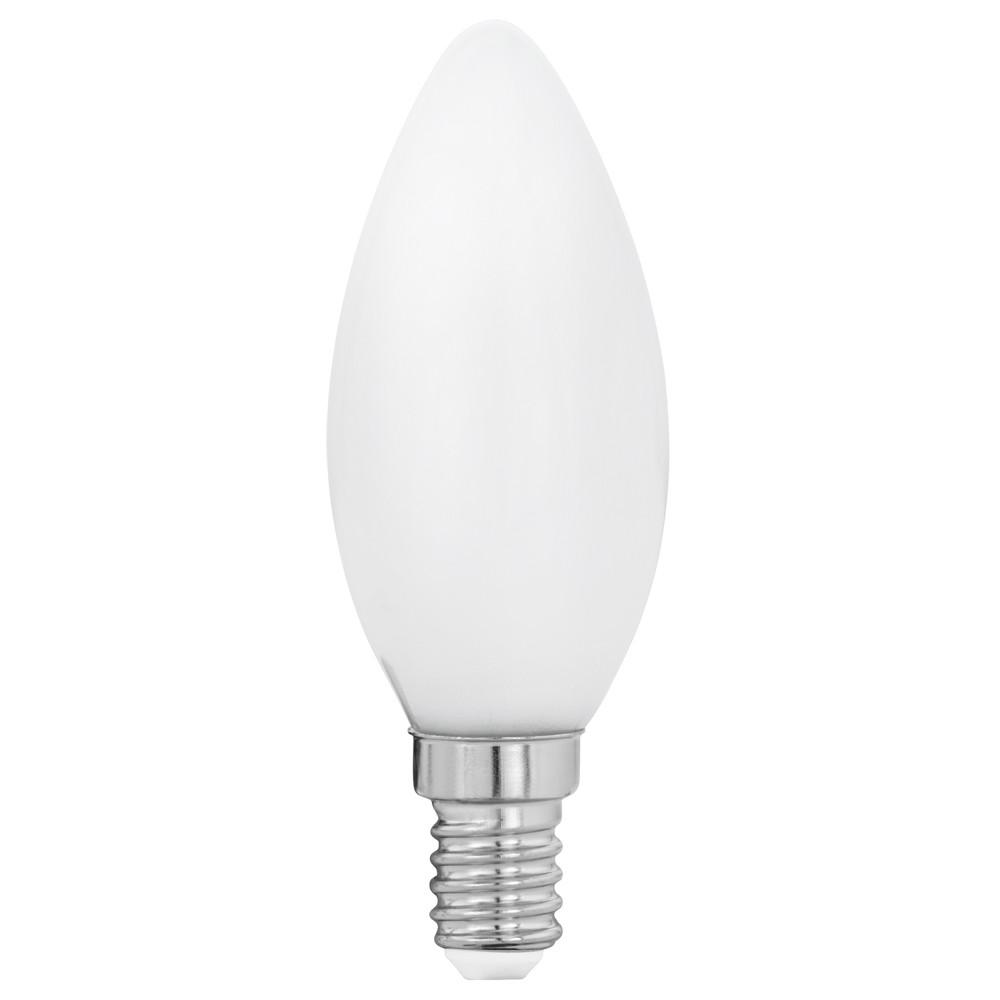 Лампочка Eglo Светодиодная лампа филаментная свеча Eglo E14 4W (соответствует 40W) 470Lm 2700K (теплый белый) 11602 от svetilnik-online