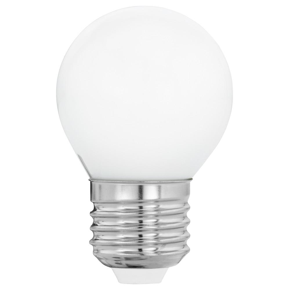 Лампочка Eglo Светодиодная лампа филаментная Eglo G45 E27 4W (соответствует 40W) 470Lm 2700K (теплый белый) 11605 от svetilnik-online