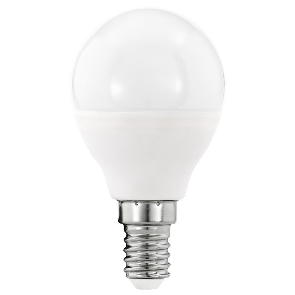 Лампочка Eglo Светодиодная лампа Eglo P45 E14 5.5W (соответствует 55W) 470Lm 3000К (теплый белый) 11644 от svetilnik-online