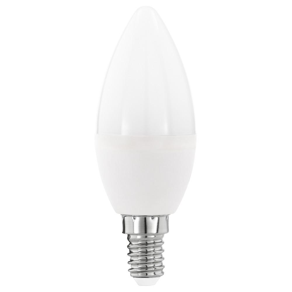 Купить Диммируемая светодиодная лампа диммируемая свеча Eglo E14 5.5W (соответствует 55W) 470Lm 3000К (теплый белый) 11645