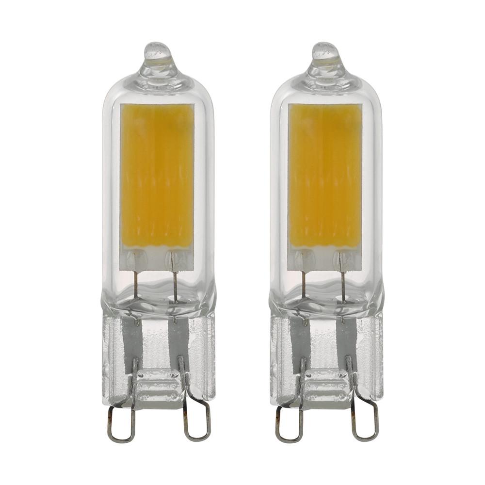 Купить Светодиодная лампа Eglo G9 3W (соответствует 30 Вт) 200Lm 3000K (теплый белый) 11676