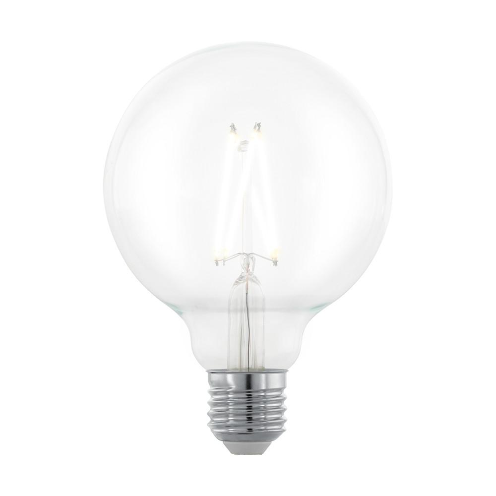 Купить Диммируемая светодиодная лампа филаментная Eglo G95 E27 6W (соответствует 60W) 806Lm 2700К (теплый белый) 11703