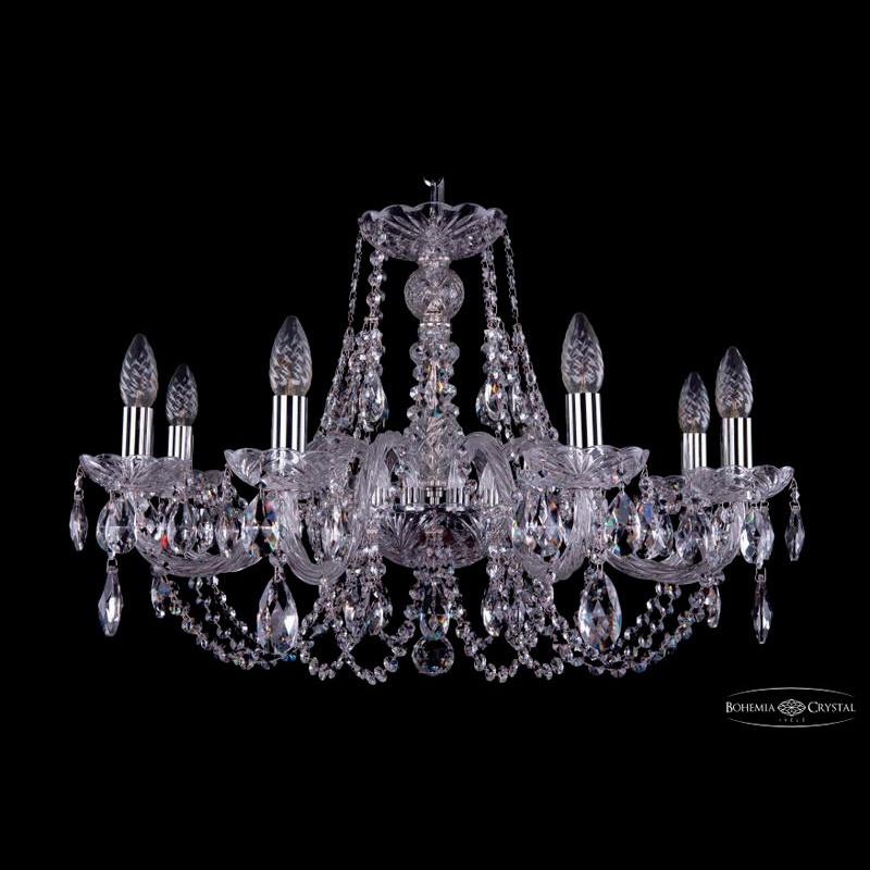 Светильник (Люстра) Bohemia Ivele Crystal 1406/8/240/NiСветильник (Люстра) Bohemia Ivele Crystal 1406/8/240/Ni<br>