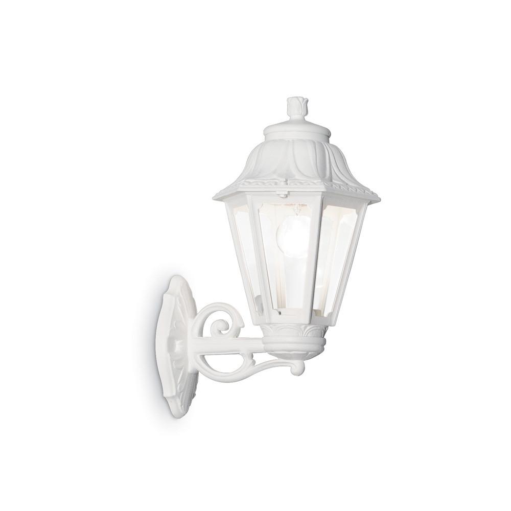 Уличный настенный светильник Ideal Lux Anna AP1 BIG BIANCO  - Купить