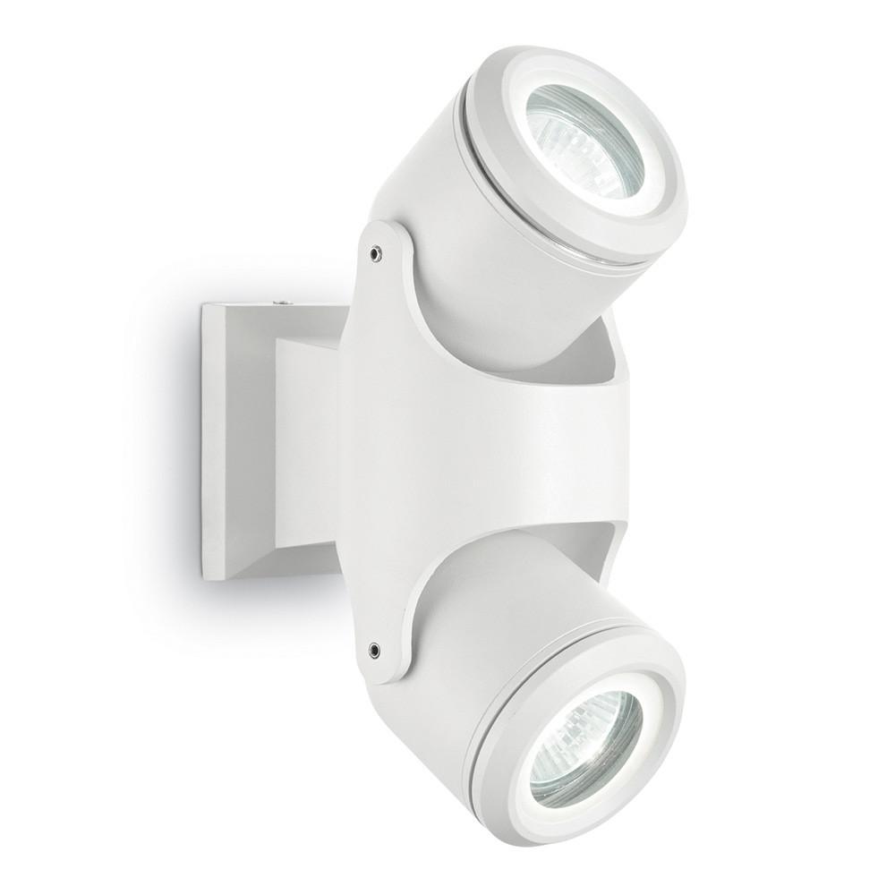 Уличный настенный светильник Ideal Lux Xeno AP2 BIANCO  - Купить