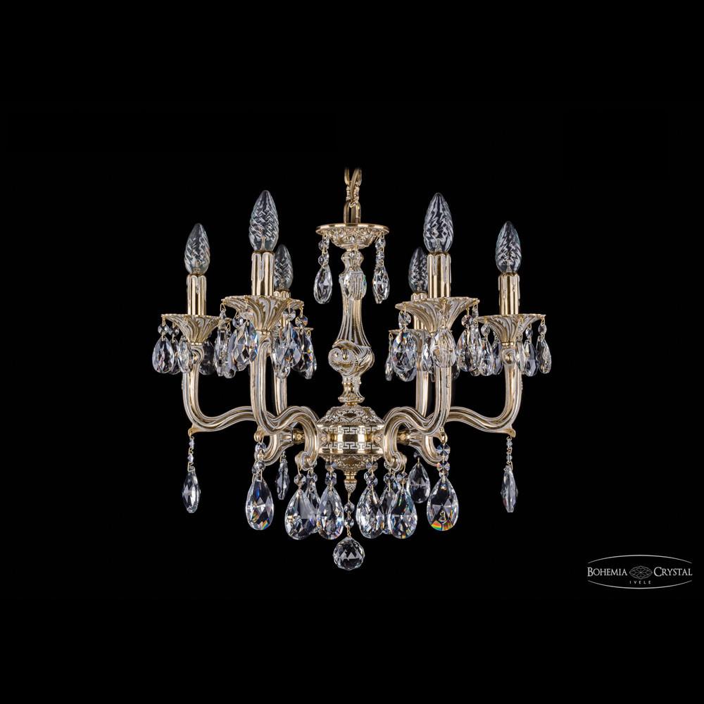 Светильник (Люстра) Bohemia Ivele Crystal 1704/6/150/A/GWСветильник (Люстра) Bohemia Ivele Crystal 1704/6/150/A/GW<br>