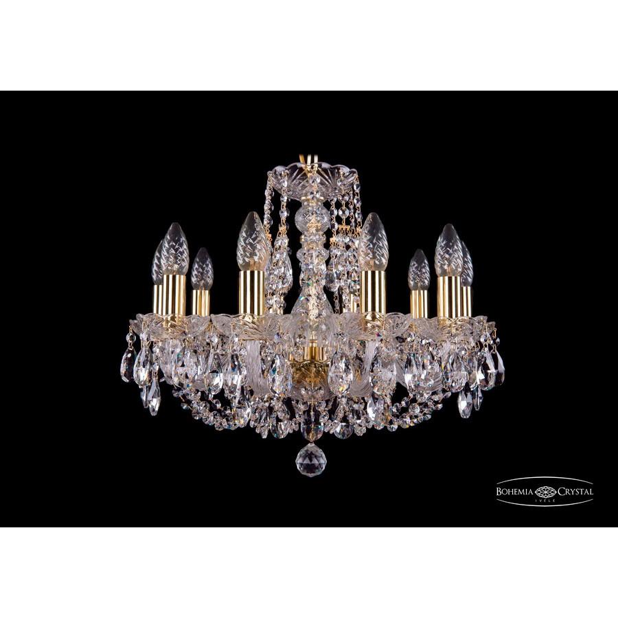 Светильник (Люстра) Bohemia Ivele Crystal 1406/10/160/GСветильник (Люстра) Bohemia Ivele Crystal 1406/10/160/G<br>