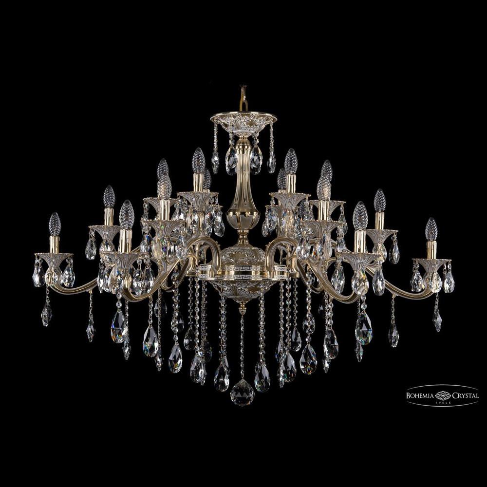 Светильник (Люстра) Bohemia Ivele Crystal 1709/18/410/B/GWСветильник (Люстра) Bohemia Ivele Crystal 1709/18/410/B/GW<br>