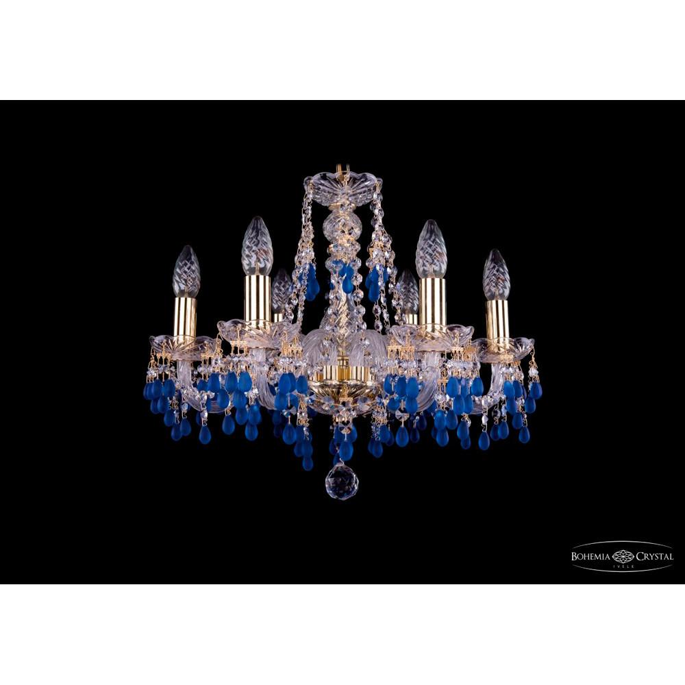 Светильник (Люстра) Bohemia Ivele Crystal 1410/6/160/G/V3001Светильник (Люстра) Bohemia Ivele Crystal 1410/6/160/G/V3001<br>