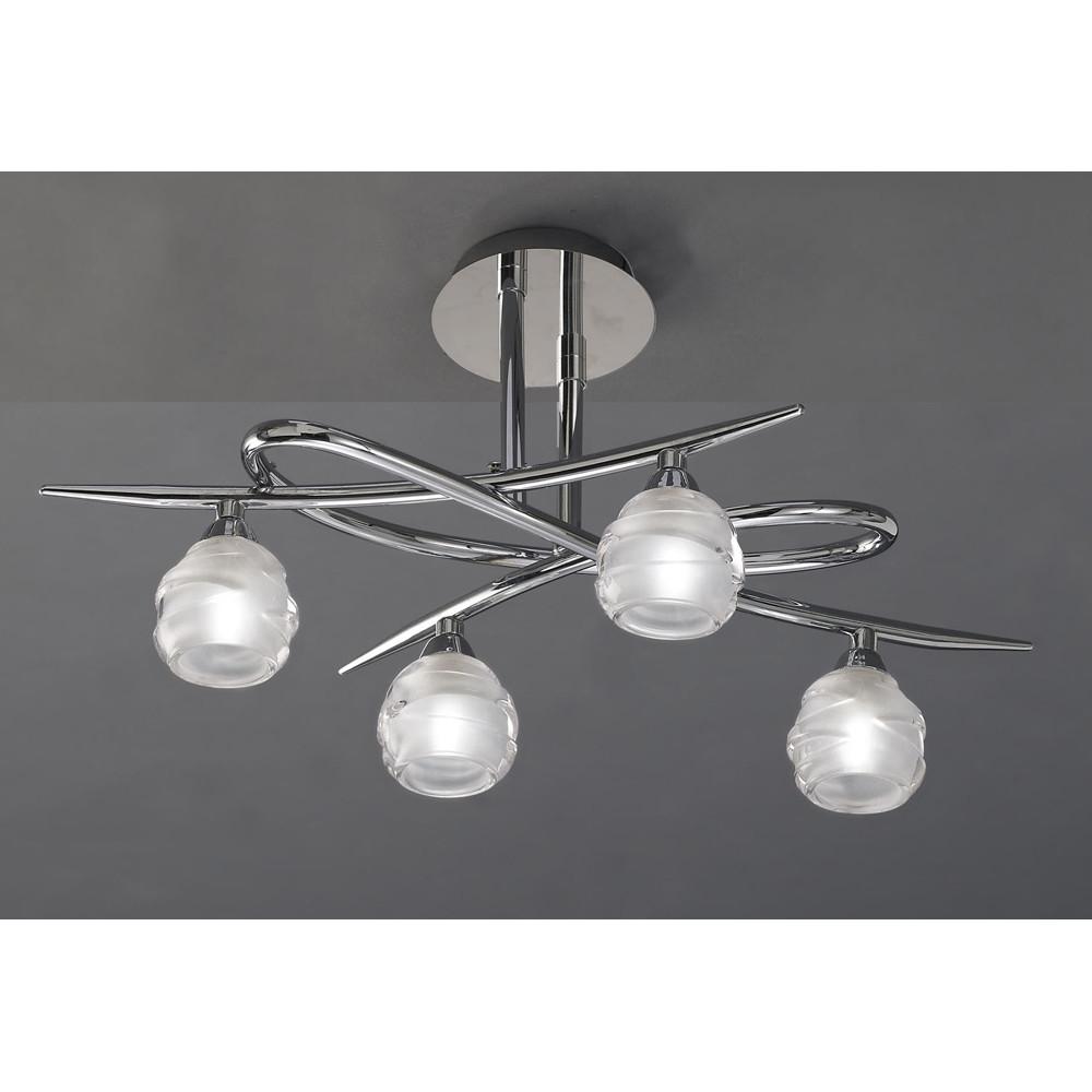 Купить Светильник Потолочный Mantra Loop Cromo 1803