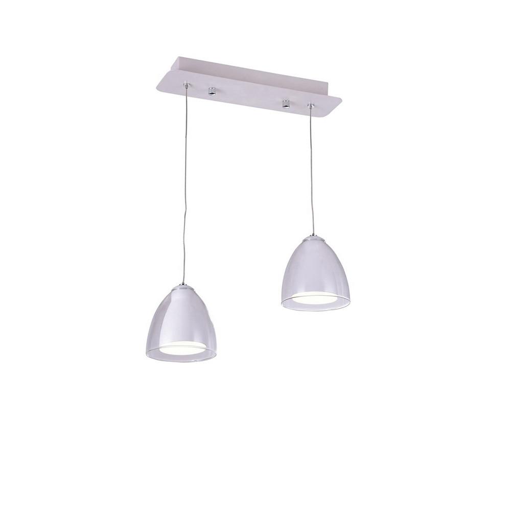 Светильник (Люстра) IDLamp Mirella 394/2-LEDWhiteСветильник (Люстра) IDLamp Mirella 394/2-LEDWhite<br>
