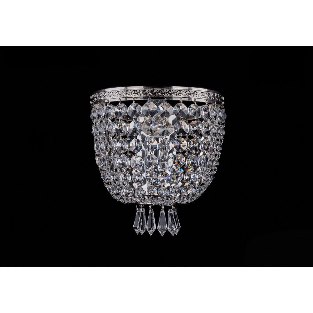 Светильник Bohemia Ivele Crystal Bohemia Ivele Crystal 1927/1W/Ni от svetilnik-online