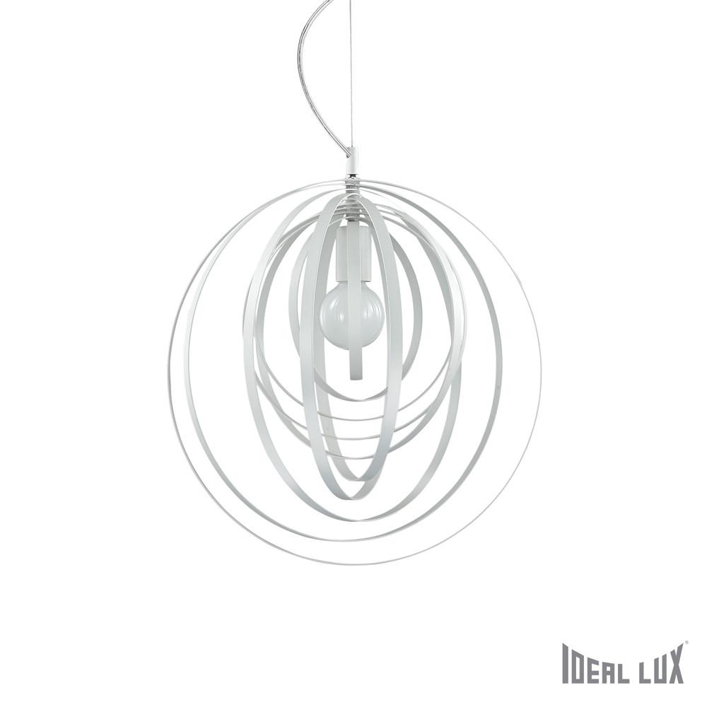 Светильник (Люстра) Ideal Lux Disco SP1 BIANCOСветильник (Люстра) Ideal Lux Disco SP1 BIANCO<br>