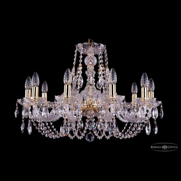 Светильник (Люстра) Bohemia Ivele Crystal 1406/10/240/GСветильник (Люстра) Bohemia Ivele Crystal 1406/10/240/G<br>
