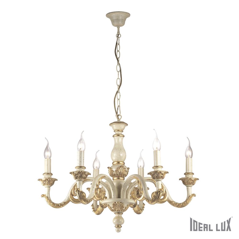 Светильник (Люстра) Ideal Lux Giglio SP6 ORO  - Купить