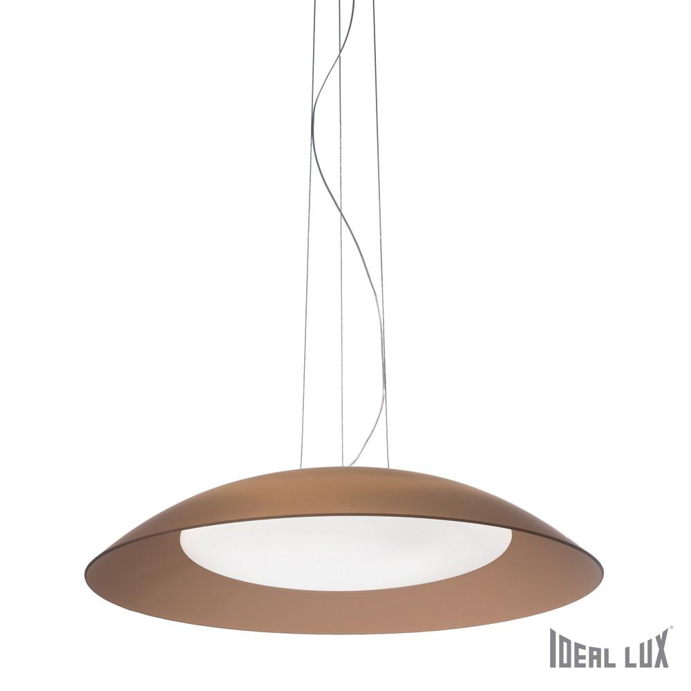 Купить Светильник (Люстра) Ideal Lux Lena SP3 D64 MARRONE