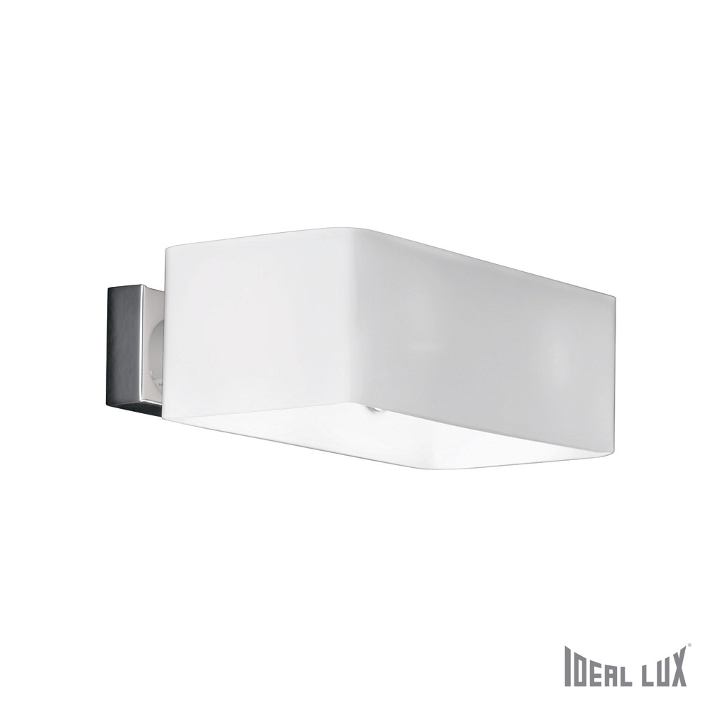 Бра Ideal Lux Box AP2 BIANCOБра Ideal Lux Box AP2 BIANCO<br>
