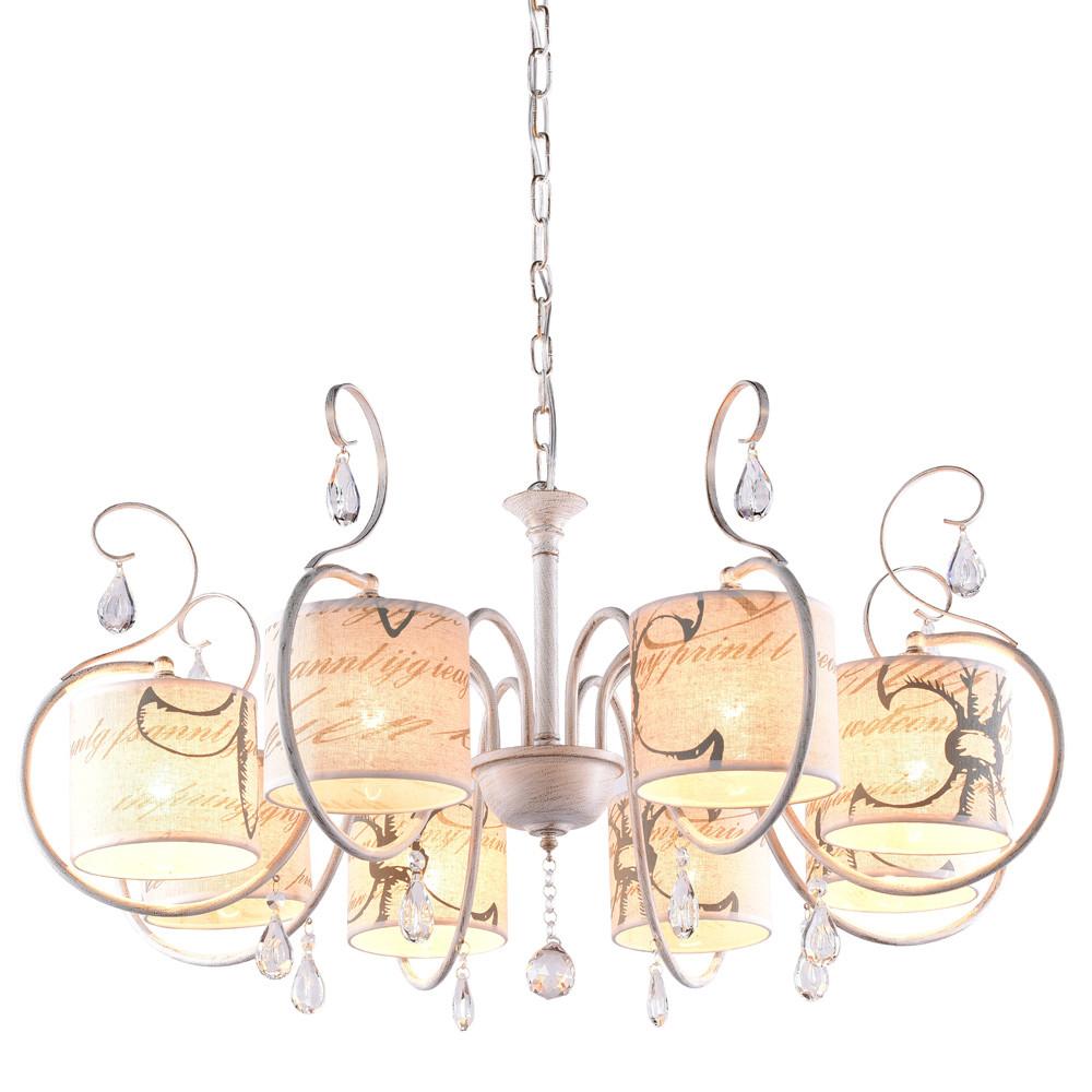 Люстра RiForma RiForma Blossom 2-3909-8-WHS E14 от svetilnik-online