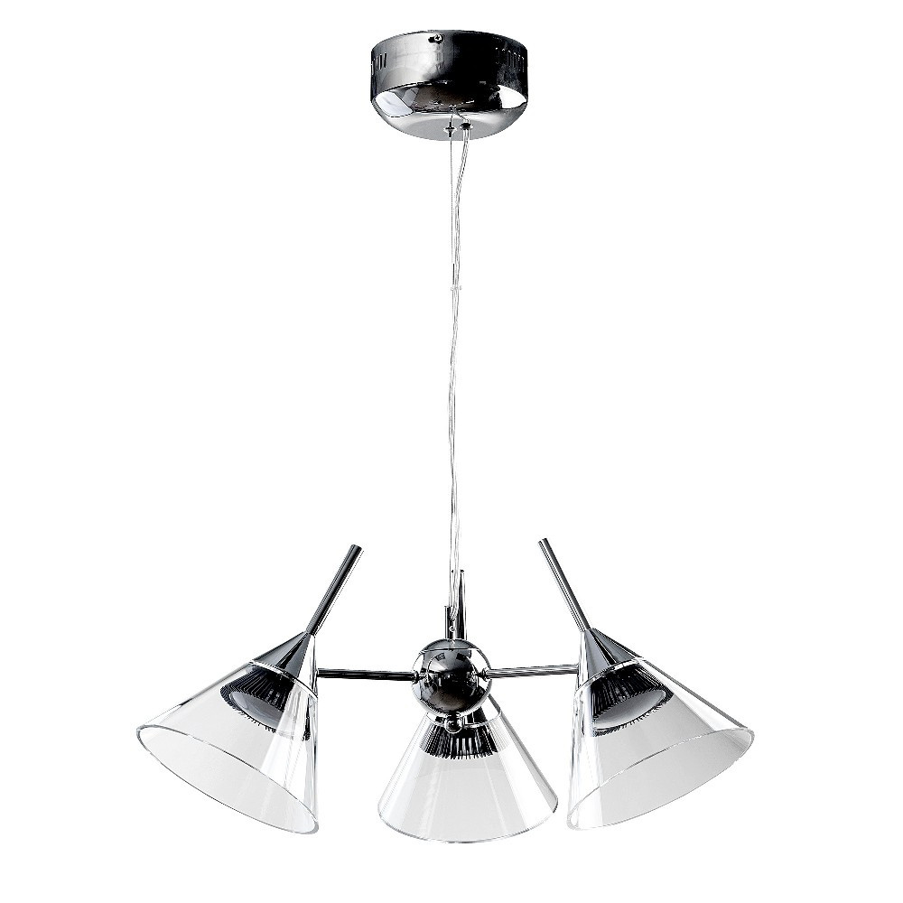 Люстра RiForma RiForma Cocktail 2-5466-3-CR LED от svetilnik-online