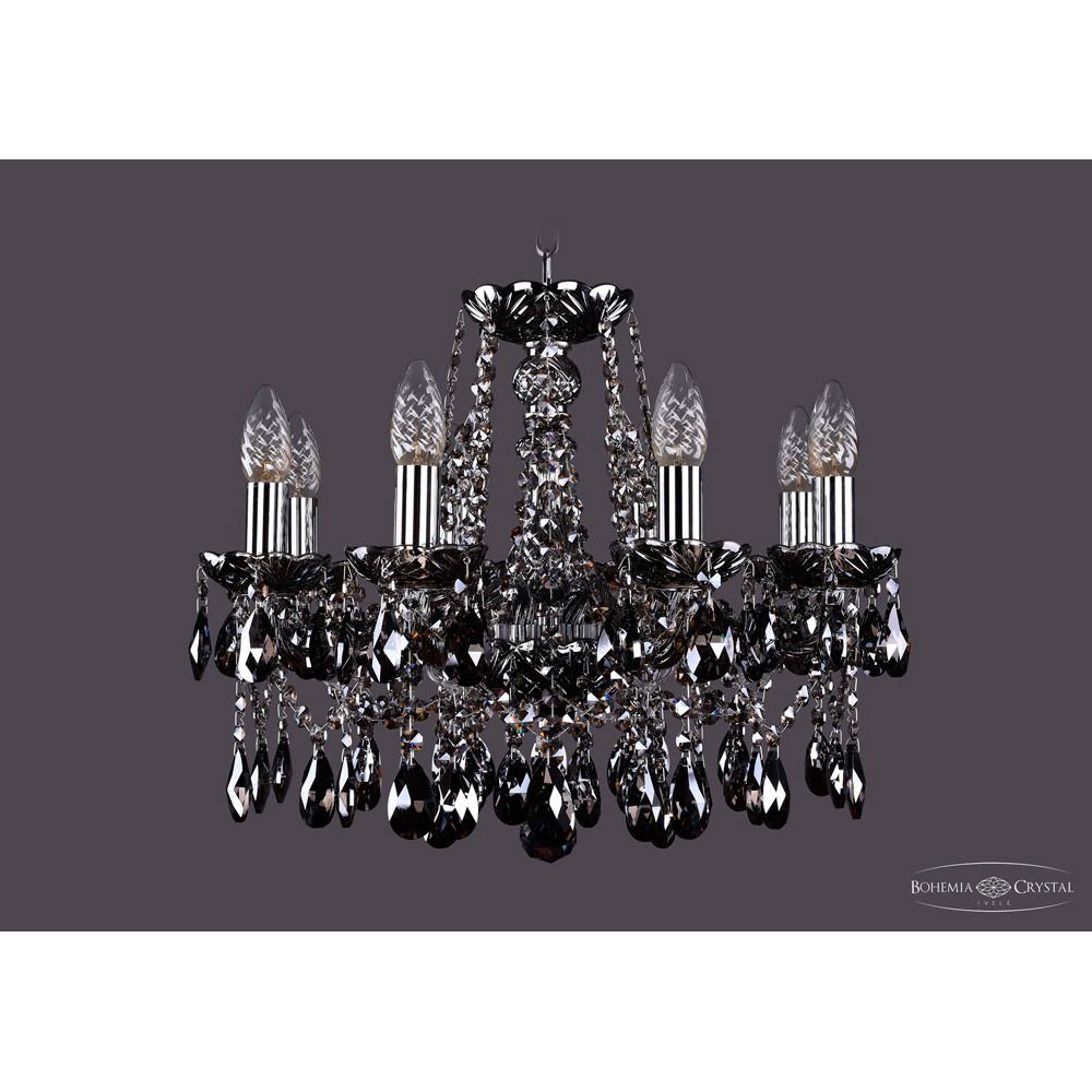 Светильник (Люстра) Bohemia Ivele Crystal 1413/8/165/NI/M781Светильник (Люстра) Bohemia Ivele Crystal 1413/8/165/NI/M781<br>