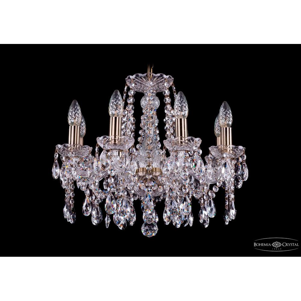 Светильник (Люстра) Bohemia Ivele Crystal 1413/8/165/PaСветильник (Люстра) Bohemia Ivele Crystal 1413/8/165/Pa<br>