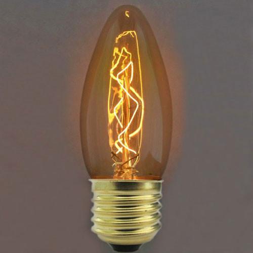 Лампочка Loft It Ретро лампа накаливания (свеча) Loft It E27 40W 220V 3540-E от svetilnik-online